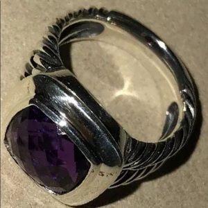 David Yurman Amethyst Ring!